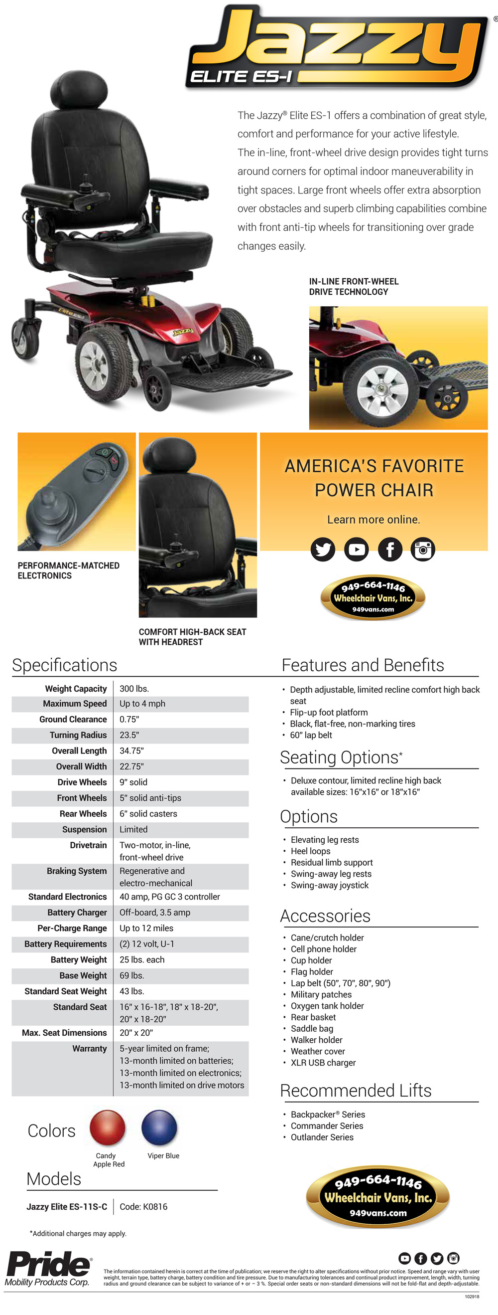 Best Prices on Pride Mobility Jazzy Elite ES 1 Electric Wheelchair Sales Event