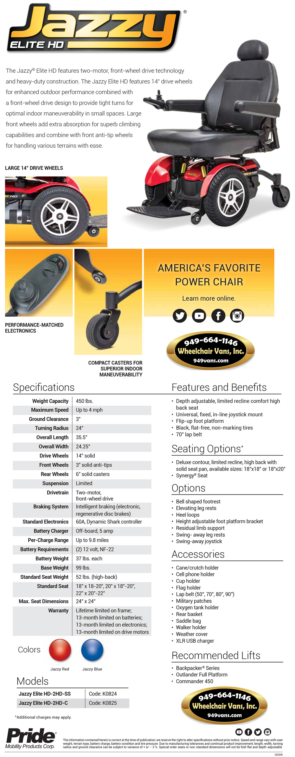 Best Prices on Pride Mobility Jazzy Elite HD Heavy Duty Electric Wheelchair Sales Event
