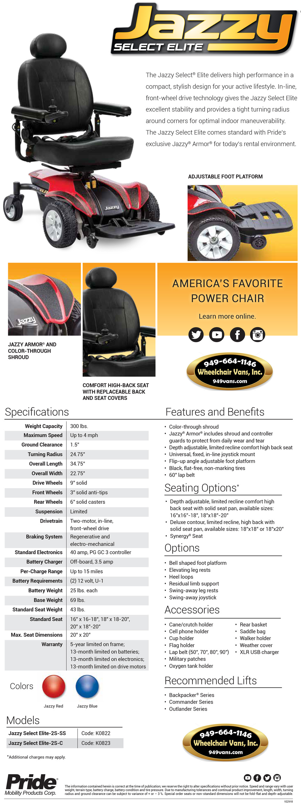 Best Prices on Pride Mobility Jazzy Select Elite Electric Wheelchair Sales Event
