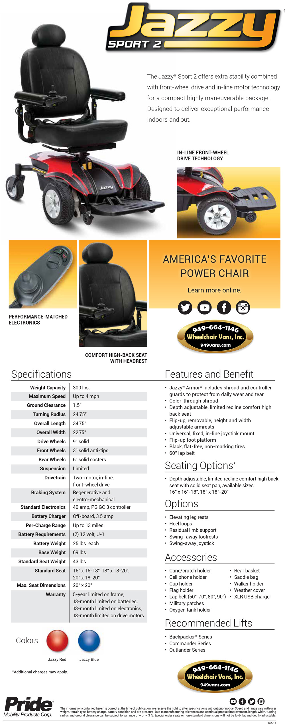 Best Prices on Pride Mobility Jazzy Sport 2 Electric Wheelchair Sales Event
