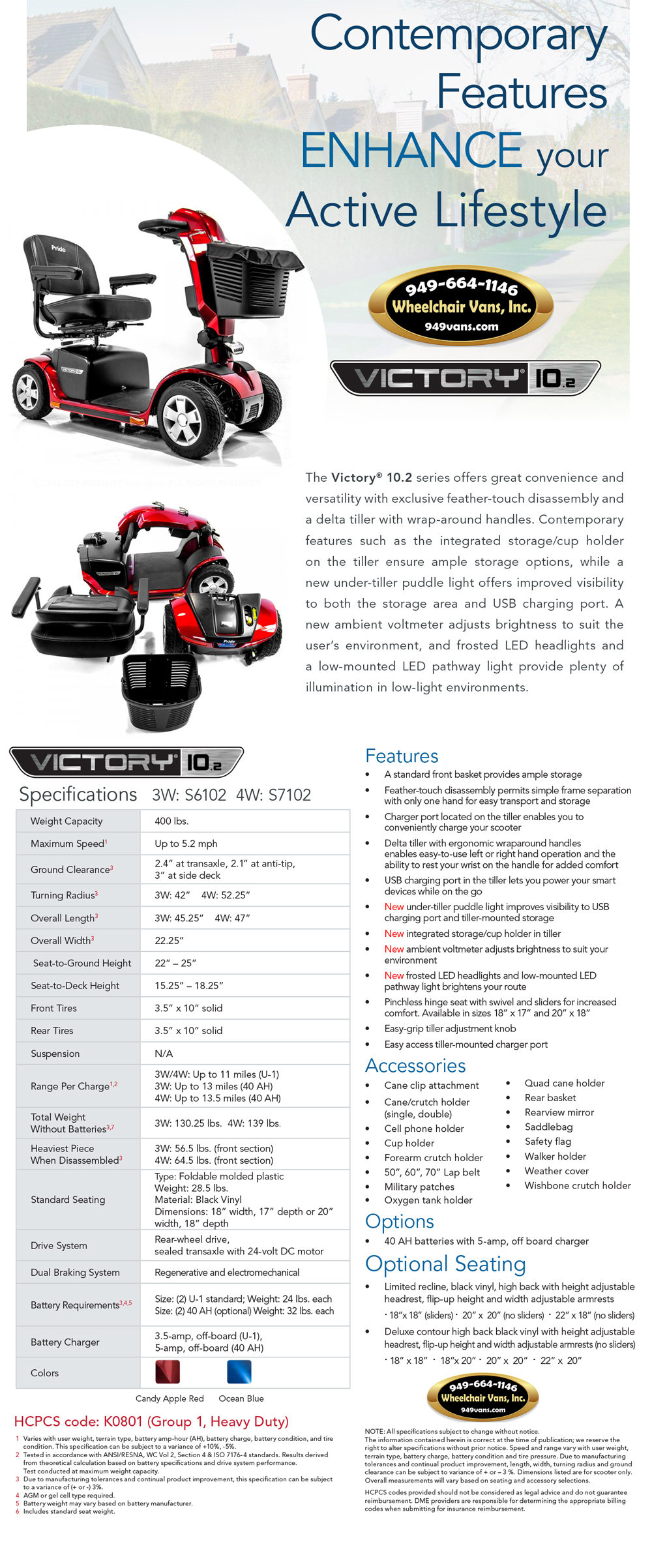 Best Prices on Pride Mobility Victory 10.2 4 Wheel Mobility Scooter Mobility Sales Event