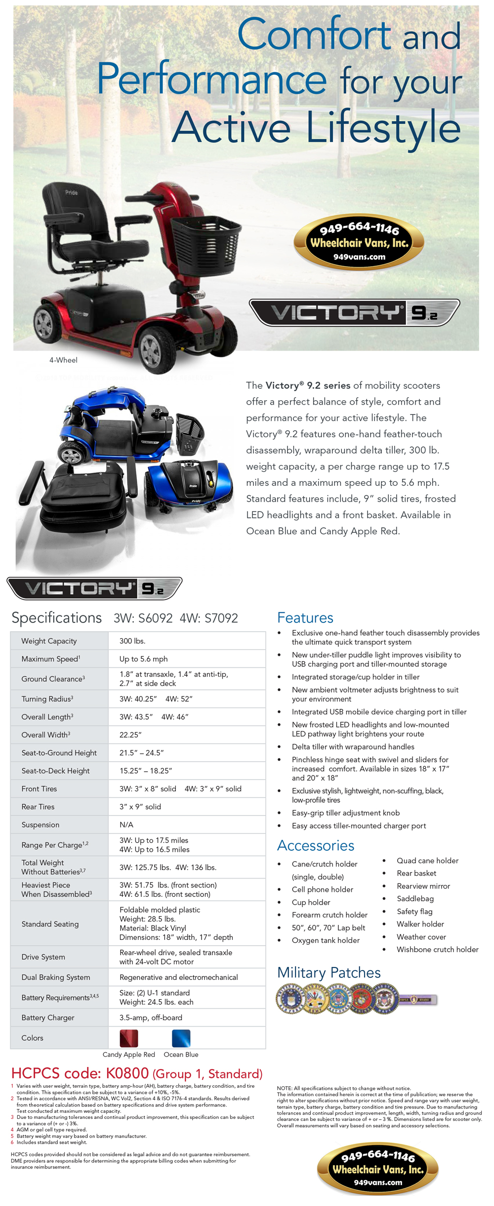 Best Prices on Pride Mobility Victory 9.2 4 Wheel Mobility Scooter Mobility Sales Event