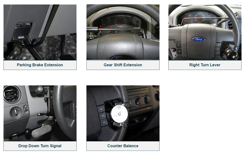 Driving Controls Accessories
