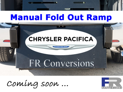 FR Conversions Chrysler Pacifica Horizon Rear Loading Wheelchair Accessible Vans