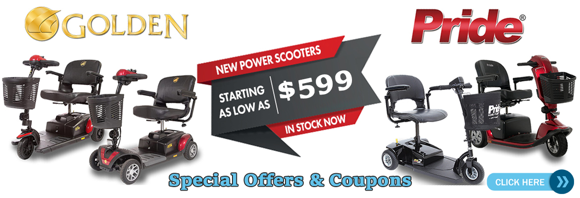 Golden and Pride SCooter Banner as low as 599 Special Offers and Coupons