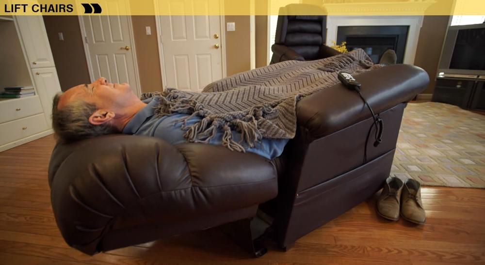 Liftchair relciners Infinite zero gravity and trendelenburg positions