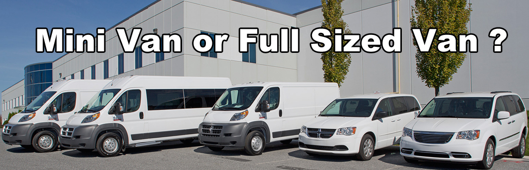 Mini Van vs. Full Sized Van ? Wheelchair Accessible Edition