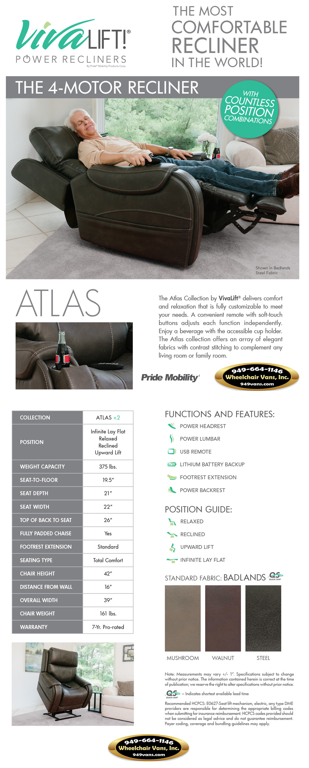 Pride_Mobility_VivaLift_Atlas_V2_Recliner_Liftchair_Sales_Event