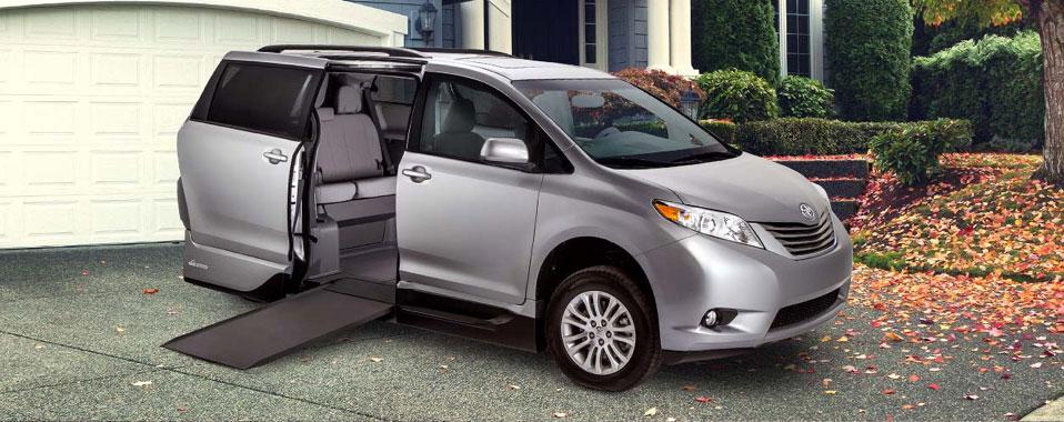 Toyota Sienna VMI Northstar Infloor Ramp Wheelchair Van Conversion
