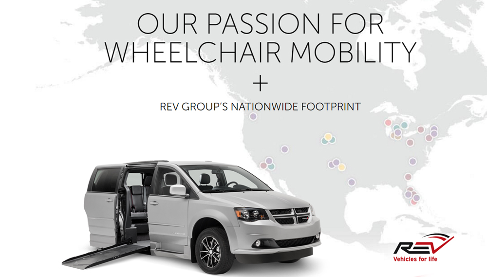 Wheelchair vans and adaptive equipment installation repair and maintenance
