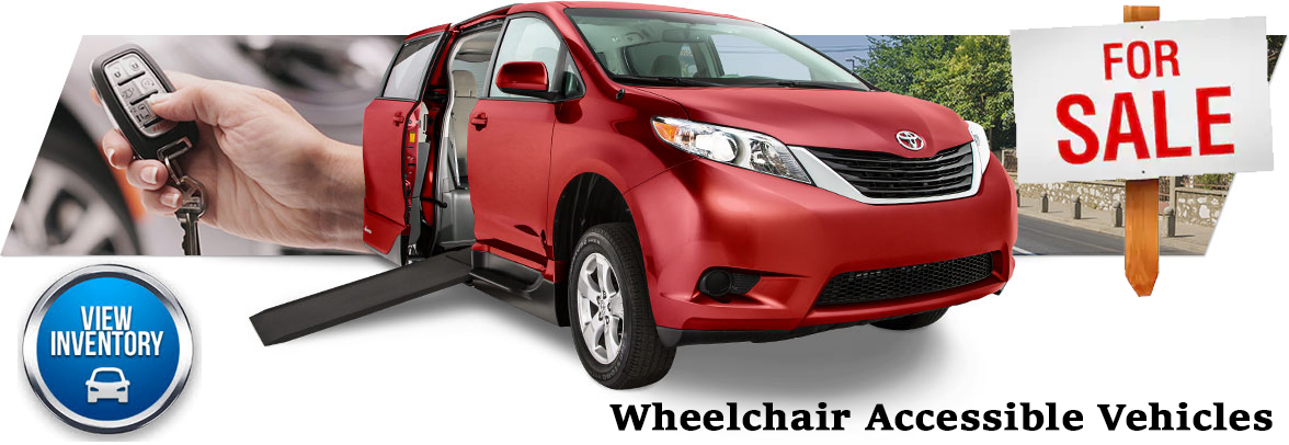 Wheelchair Vans For Sale New and Used Accessible Vehicles Inventory Orange County California