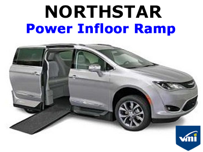 Northstar Power Infloor Ramp Wheelchair Van Conversion