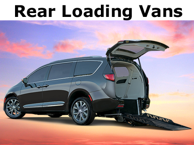Chrysler Pacifica Wheelchair Accessible Vans