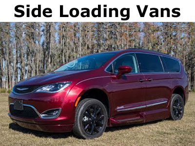 Chrysler Pacifica Side Loading Wheelchair Vans