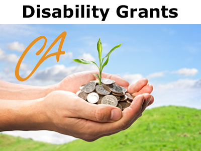 California Disability Grants