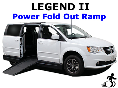 Legend II Power Fold Out Ramp Wheelchair Van Conversion