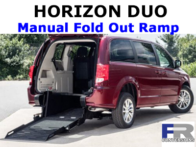 Horizon Duo Manual Fold Out Ramp Wheelchair Van Conversion