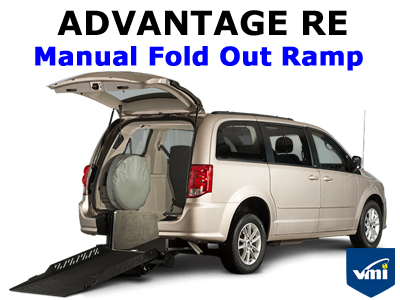 Advantage RE Manual Fold Out Ramp Wheelchair Van Conversion