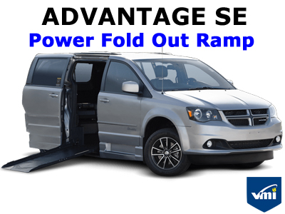 Advantage SE Power Fold Out Ramp Wheelchair Van Conversion