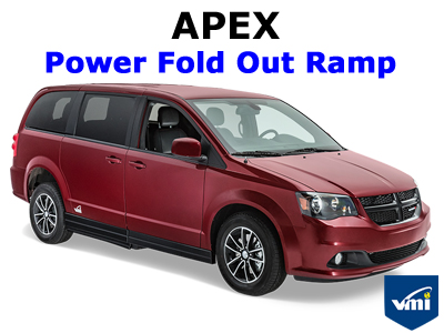 Apex Power Fold Out Ramp Wheelchair Van Conversion