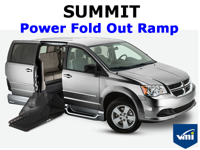 Summit Power Fold Out Ramp Wheelchair Van Conversion