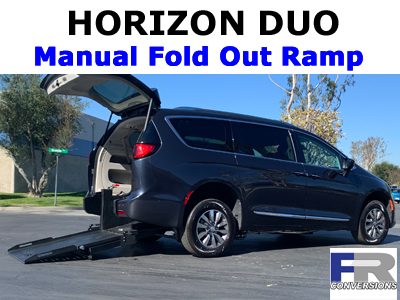 Horizon Rear Loading Wheelchair Accessible Vans