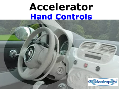 Hand Controls: Accelerator Only
