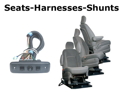 Seat, Harnesses and Shunts