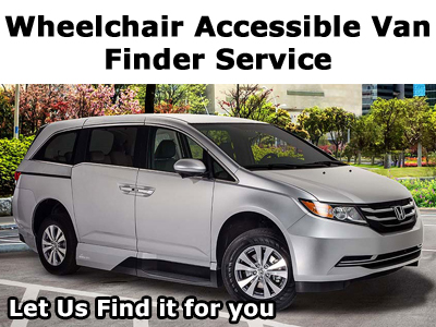 Wheelchair Accessible Van Finder Service