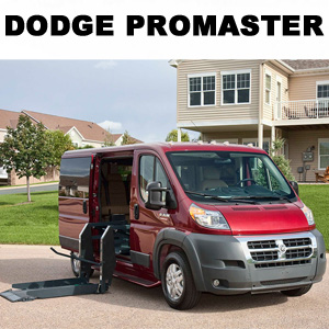Dodge Promaster Wheelchair and Shuttle Conversion