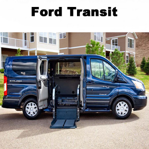 Ford Transit Wheelchair and Shuttle Conversion