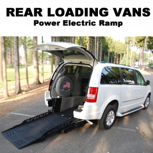 Power Rear Loading Van