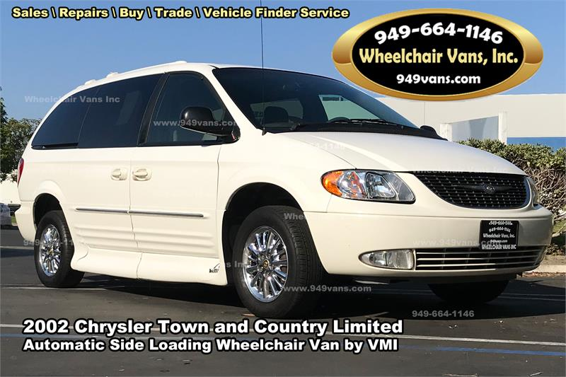 Chryslertownandcountrywithautomaticsideloadingwheelchairvanconversionbyvmi on Chrysler Town And Country Mobility Vans