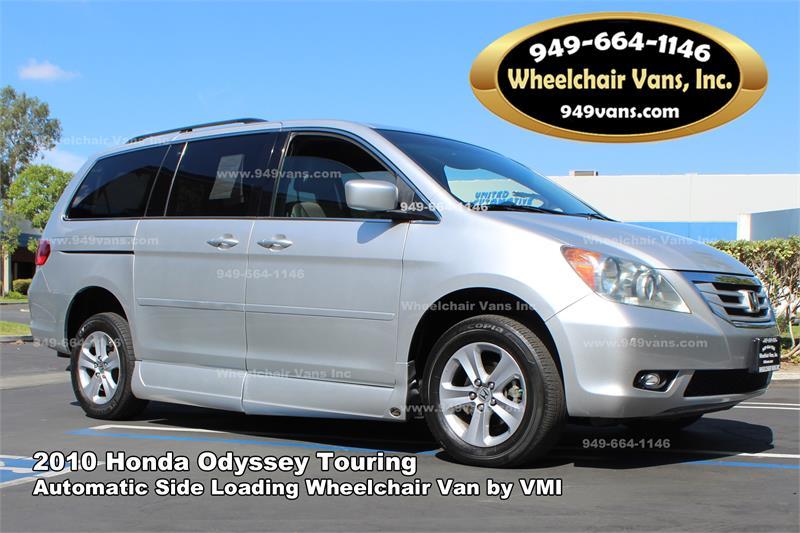 American Honda Finance Address >> For sale 2010 Honda Odyssey Touring VMI Northstar Wheelchair Van 113491