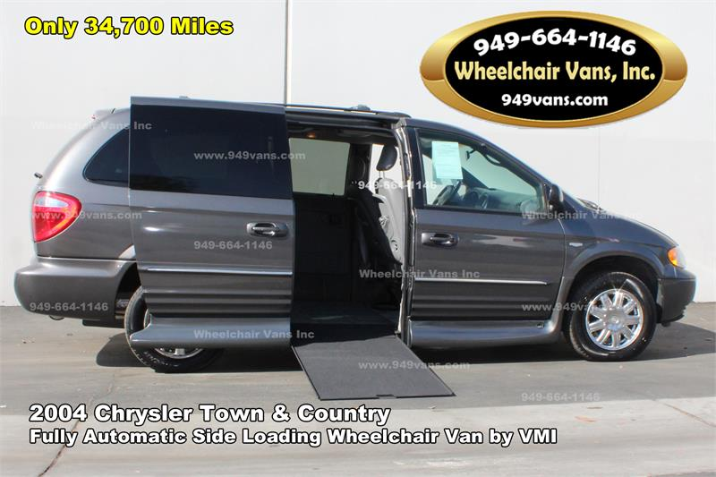 For Sale 2004 Chrysler Town And Country Wheelchair Van By