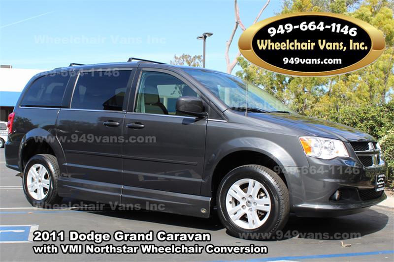 for sale 2011 dodge grand caravan crew wheelchair van. Black Bedroom Furniture Sets. Home Design Ideas