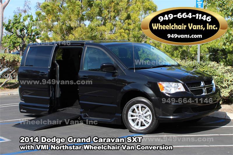 for sale used 2014 dodge grand caravan sxt wheelchair van. Black Bedroom Furniture Sets. Home Design Ideas