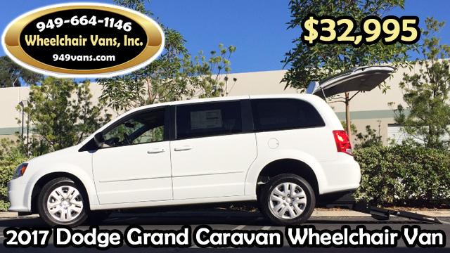 new 2017 dodge grand caravan rear loading wheelchair van. Black Bedroom Furniture Sets. Home Design Ideas