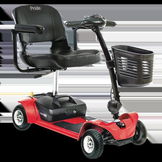 pride mobility gogo ultra x 4 wheel travel scooter. Black Bedroom Furniture Sets. Home Design Ideas