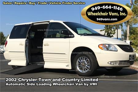 4bd580ff9cb881 For sale 2002 Chrysler Town and Country Limited Wheelchair Van by VMI