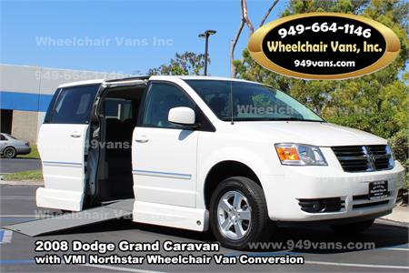 For Sale Used 2008 Dodge Grand Caravan Sxt With A Vmi Northstar