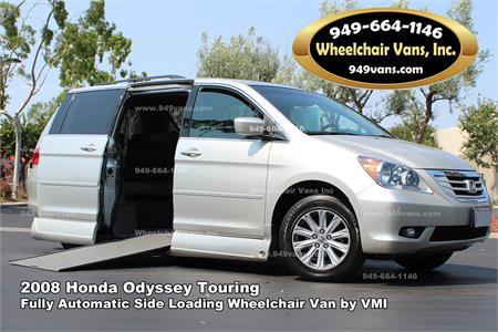 2008 Honda Odyssey Touring VMI Northstar Wheelchair Van
