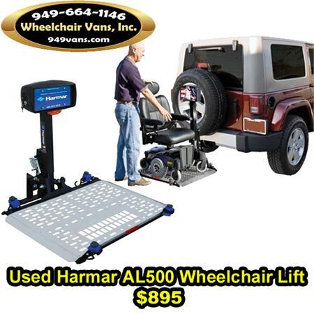 for sale used harmar al500 wheelchair lift. Black Bedroom Furniture Sets. Home Design Ideas