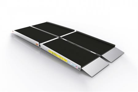 e z access tri fold wheelchair ramps ez access trifold ramp used on