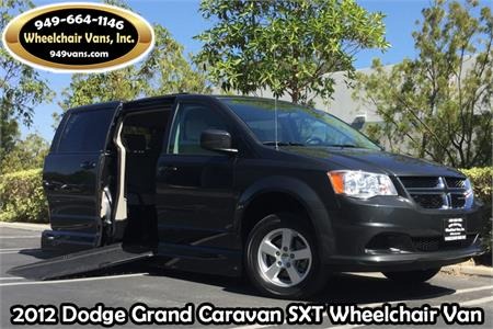 2012 Dodge Grand Caravan SXT With VMI Northstar Wheelchair Van Conversion